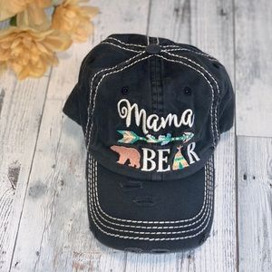 5 for $25 KBETHOS Vintage Mama Bear hat